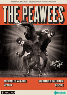 THE PEAWEES (IT) en Wurlitzer Ballroom, Madrid
