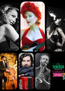 PIA TEDESCO  presenta CABARET and ARTS en Sala Equis