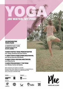 Event phe yoga  be water  my phe
