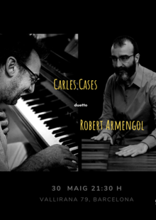 Carles Cases duetto & Robert Armengol