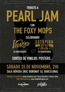 TRIBUTO A PEARL JAM (THE FOXY MOPS)