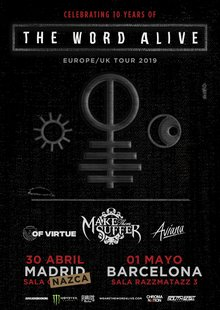 Event the word alive  madrid   barcelona  30.4   1.5 2019  2