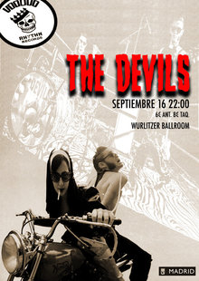 THE DEVILS (IT) en Madrid - Wurlitzer Ballroom