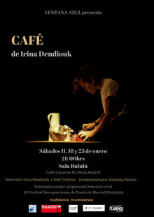 Event cartel. cafe bululu