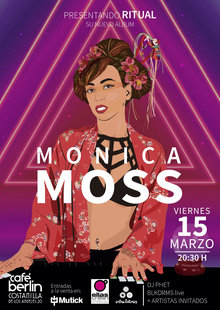 MONICA MOSS en Madrid - Café Berlin