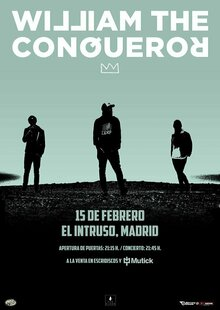 WILLIAM THE CONQUEROR (UK) en Madrid - Intruso Bar