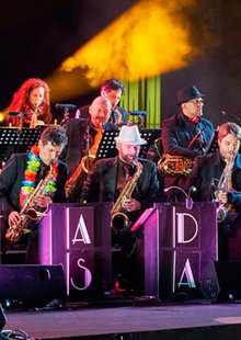 Event shelia blanco y mad sax big band