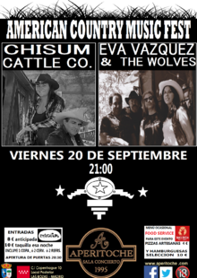EVA VAZQUEZ & the Wolves  +  CHISUM CATTLE CO