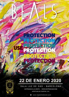 "Beals The Band presents ""Use Protection"" - Sala ""Luz de Gas"" (2020)"
