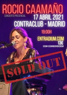 Event cartel rocio libertad 8   11abr21  sold out 19h