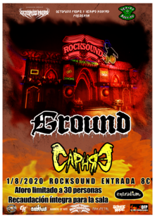 Event cartel rocksound 1 8 2020