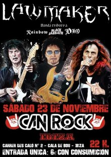 Law Maker (Tributo a Dio) Live @ Can Rock