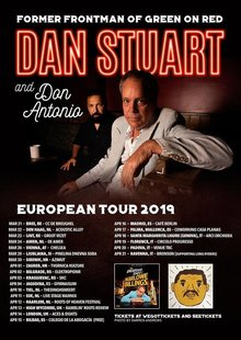 DAN STUART & DON ANTONIO (USA) en Madrid - Café Berlin