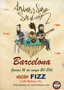 Event cartel hermanos sudon barcelona