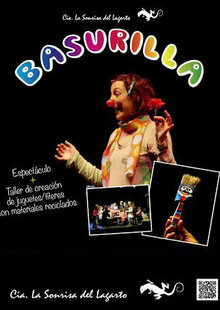 Event cartel   taller basurilla