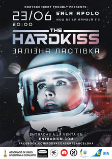 The Hardkiss вперше у Барселоні! - The Hardkiss en Barcelona!