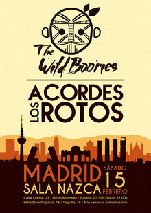 THE WILD BOORIES + LOS ACORDES ROTOS