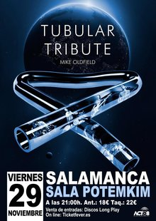 Event tubular tribute salamanca 2019 potemkim tributo a mike oldfield