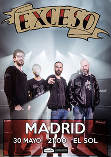 Event cartel madrid exceso opt