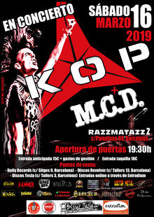 Event cartel kop   mcd