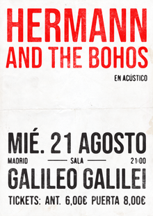 HERMANN & THE BOHOS (ACÚSTICO)