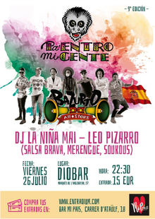 Event bazurto post flyer png