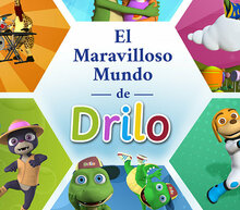 Event grid web cartel el maravilloso mundo de drilo horizontal 59 6x42 2