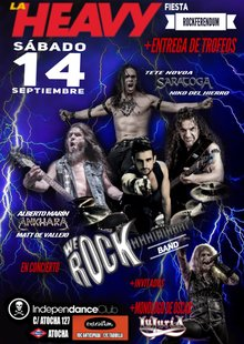 Event cartel premios heavy rock