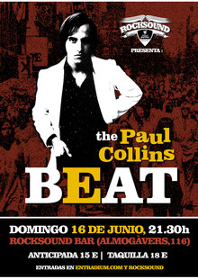 Paul Collins Beat en Barcelona