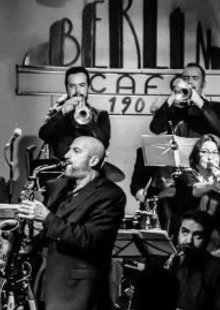 Event bob sands big band caf c3 a9 berl c3 adn madrid