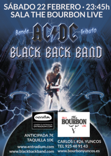 Black Back Band - Tributo AC/DC