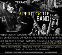 Event grid aperitoche band cartel bueno sabqado 8