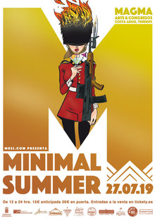 Event cartel oficial minimal summer 2019