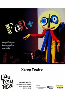 Event xarop teatre for