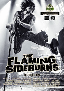 THE FLAMING SIDEBURNS en Salamanca - Potemkin