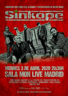 Event s%c3%adnkope madrid sala mon 3 abril 2020