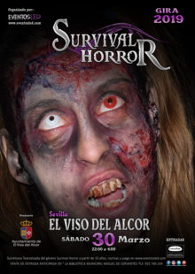 "SURVIVAL HORROR LED "" EL VISO DEL ALCOR """