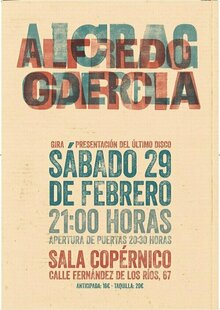 Event alfredogarcia poster 70x100 print page 0001
