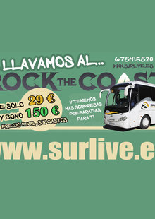 Rock The Coast - BUS desde Sevilla