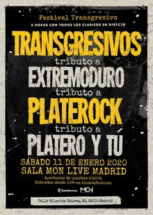 Event tributo a extremoduro y platero madrid