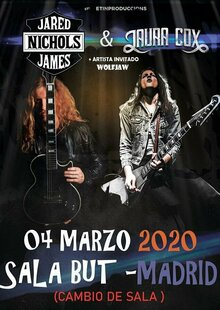 Event entradas jared james nichols madrid