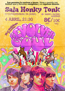HEY BULLDOGS - Revolver soul en Madrid - Tributo a The Beatles
