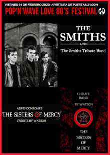 The Smiths LTD & The Sisters of Mercy Tribute Night Festival + Luis Le Nuit & MartyrDan Afterparty.