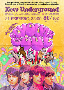HEY BULLDOGS - Revolver soul en Barcelona - Tributo a The Beatles