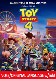Event toy story entrad vose