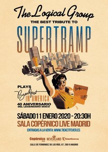The Logical Group - El GRAN TRIBUTO A SUPERTRAMP - 40 años de Breakfast in America - Madrid