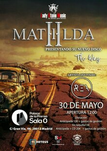 Event mathilda en madrid 30 de mayo 2021