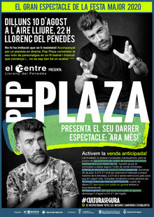 Event cartell pep plaza fm 2020 s