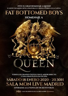Event tributo a queen madrid  fat bottomed boys