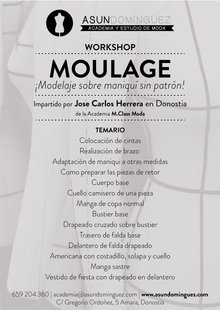 Event workshop moulage sin fecha